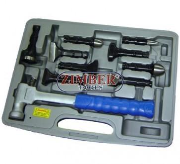 Автотенекеджийски инструменти комплект 11 ч, ZR-36LMH - ZIMBER PROFESSIONAL