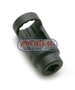 "Injector socket 27мм - 1/2"" - ZT-04A2152 - SMANN TOOLS,"