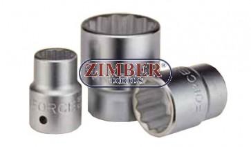 Вложка 32 мм 3/4 дванадесетостенна-  FOFCE TOOLS-56932