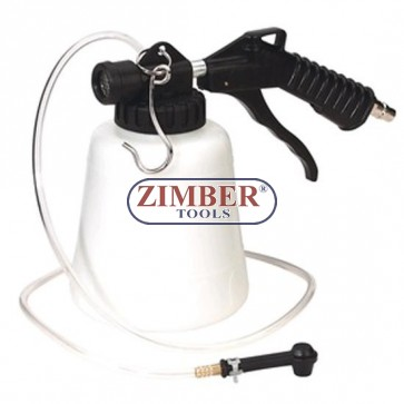 Въздушен вакуум за източване на спирачната течност, ZR-36VBFB - ZIMBER-TOOLS
