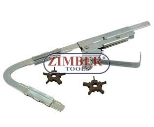 Инструмент за почиствне на нагара каналите на буталото - ZIMBER