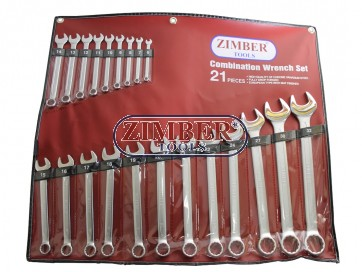 К-т ключове звездогаечни 21 части от 6-32мм - ZIMBER