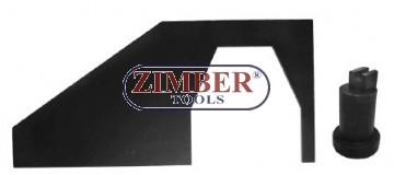 К-т за зацепване на двигатели Ford /Mazda  1.8 Duratec - SCI - ZR-36ETTS30 - ZIMBER TOOLS.