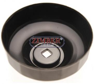 Чашка за маслен филтър 90-mm x P15, Honda Accord, Mitsubishi, Mopar, Isuzu. - ZR-36OFWCT9015 - ZIMBER-PROFESSIONAL