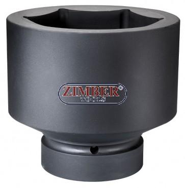 """Вложка ударна шестостенна 1"""" - 120mm, ZR-08IS8120M - ZIMBER TOOLS"""