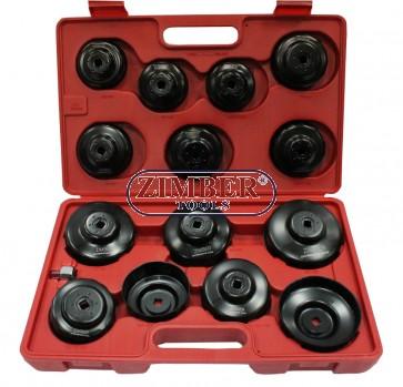 К-т чашки за маслен филтър 15 части .ZR-36OFWS15 - ZIMBER-PROFESSINAL