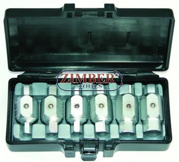 К-т ключове за картер 6-бр, 5061 - FORCE TOOLS.