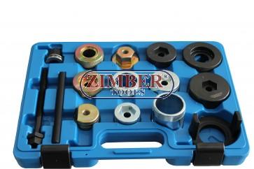 К-т за монтаж и демонтаж на втулки на заден мост за BMW Е36, Е46,Е85 - ZIMBER