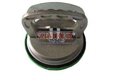 Единична вендуза (алуминиева) за захващане на стъкла и други плоски повърхности - ZR-36SSC02 - ZIMBER - TOOLS