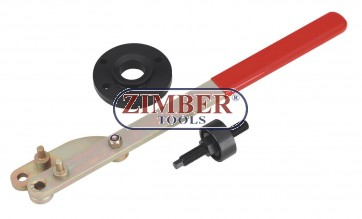 Crankshaft Pulley Remover & Installer Set - For Ford / Mazada, ZR-36ETTS272 - ZIMBER TOOLS.