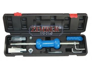 Обратен чук за изправяне на вдлъбнатини к-т 9бр - ZT-05016A - SMANN TOOLS.