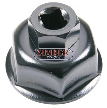 Капачка за маслен филтър 36-mm. 6-стенна, 1019-36 - BGS technic.
