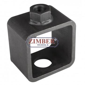 Накрайник за обратен чук за демонтаж на карета на полуоски - ZIMBER - PROFESSIONAL-ZR-36FWDACA