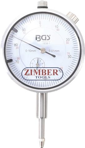 Часовник индикаторен  0-10 мм, (1938-1) - BGS technic