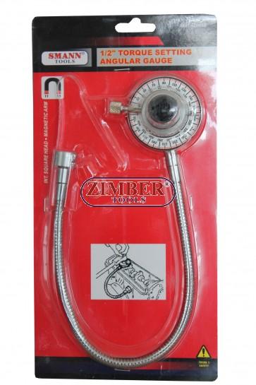 Градусомер с магнит 1/2, ZT-04Z0018 - SMANN-PROFESSIONAL