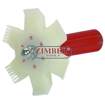 Гребен за радиатори, ZR-36CFC - ZIMBER-TOOLS.