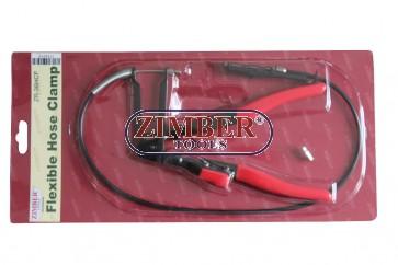 Клещи за скоби на водни съединения с жило - ZIMBER