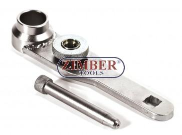Фиксатор за шайбата на коляновият вал на двигатели с карбуратори на HONDA CRX, CIVIC, ACCORD и PRELUDE- ZR-36ETTS282- ZIMBER TOOLS.