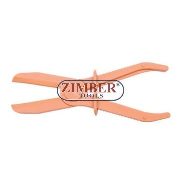 Клещи пристягащи ф60- 255 mm. ZL-1801C -ZIMBER TOOLS