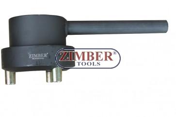 Инструмент за фиксиране на демпферни шайби на колянов вал  Mercedes Benz (M112/M113/M137)- ZR-36CHBP - ZIMBER-PROFESSIONAL