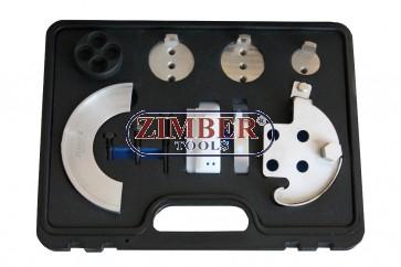К-т за монтаж на многоканални ремъци 11 части, ZR-36MTTS11 - ZIMBER TOOLS