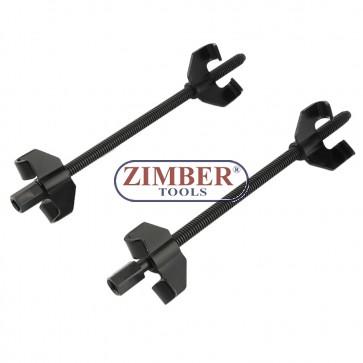 Скоби за демонтиране на пружини 370-mm, к-т 2-бр. - ZT-04023 - SMANN PROFESSIONAL