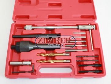 К-т за демонтаж на скъсани подгревни свещи 8мм и 10мм (ZT-04818) - SMANN PROFESSIONAL