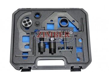 К-т за зацепване на двигатели BMW, Land Rover, Rover & OPEL MG 2.0 3.0 - BMW Mini N47/N57 1.6, 2.0, 3.0- ZR-36ETTSB8601-ZIMBER TOOLS