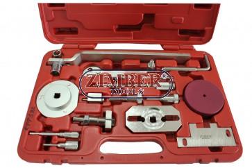 К-т за зацепване на двигатели  Fiat, Iveco /Psa/ Ford,  Citroen, Peugeot  - 2.2L, 2.3L, 3.0L, ZR-36ETTS92 - ZIMBER- PROFESSIONAL