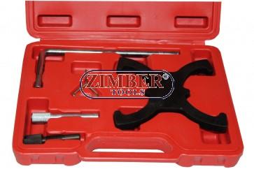 Комплект за фиксиране на двигатели Ford 1.6TiVCT и 2.0TDCi  - ZT-04533 - SMANN PROFESSIONAL
