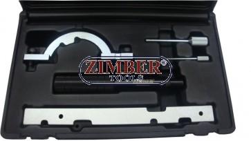 Комплект за зацепване на двигатели Opel 1.0,1.2,1.4  двиг: X10XE, X12XE - ZR-36ETTS51 - ZIMBER-PROFESSIONAL