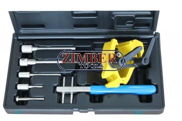 К-т за зацепване на двигатели Renault, Vauxhall & Volvo, ZR-36ETTS301- ZIMBER TOOLS.