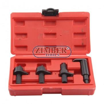 К-т за зацепване на двигатели VW 1.2 6V / 12V 3 цилиндъра бензинови двигатели, ZT-04182 - SMANN PROFESSIONAL