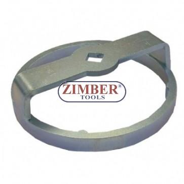 """Ключ за маслен филтър Renault 66mm x 6  ъгли,1/2""""DR. ZR-36OFW1221-ZIMBER TOOLS"""