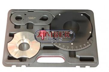 Комплект за измерване на износване на веригата за бензинови двигатели с верижно задвижване VAG 1.2 / 1.4 TFSi - ZR-36ETTS322 - ZIMBER TOOLS.