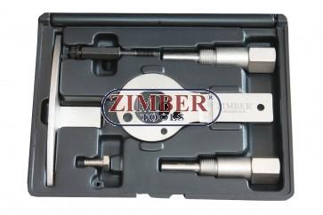 Комплект за зацепване на дизелови двигатели Alfa Romeo, Fiat 1.9, 8V/16V 2.4 JTD 10V/20V, MULTIJET- ZR-36ETTS86 - ZIMBER-PROFESSIONAL