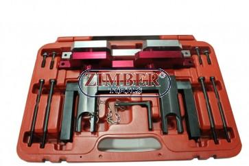 Комплект за зацепване на двигатели  BMW  2.5, 3.0 - N51,N52,N53,N54, ZR-36ETTSB47- ZIMBER-PROFESSIONAL