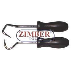 Куки за разлепване на маркучи - 2бр-  (ZR-36HRS02)- ZIMBER PROFESSIONAL