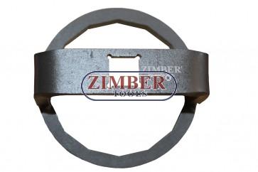 """Ключ за маслен филтър Mitsubishi LANCER 1.6T & VIRAGE 1.8TC 66mm / 14 стенна -1/2""""- ZR-36OFW1220 - ZIMBER TOOLS"""
