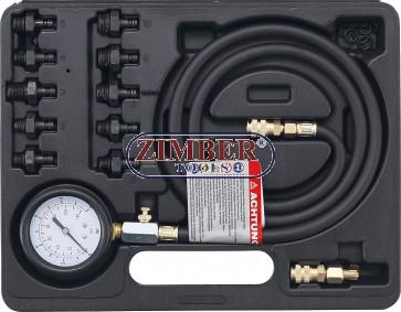 К-кт за измерване налягането на маслото 0 - 10 bar, - 98007 - BGS technic- Kraftmann.