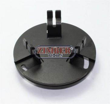 Регулируем ключ за капачката на бензинова помпа - размер от 89mm до 170mm. ZR-36FTLR170 - ZIMBER TOOLS.