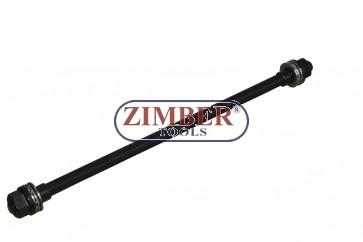 Шпилка 12мм за адапторите от комплектите за монтаж и демонтаж на втулки 1-бр, ZR-41PURISK02 - ZIMBER PROFESSIONAL