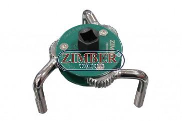 Ключ паяк за маслен филтър 65-120мм-ZIMBER