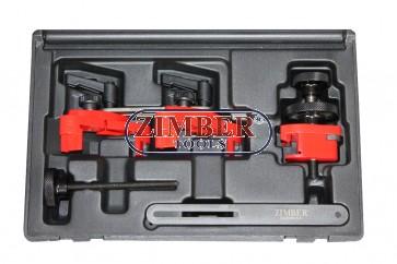 Универсален комплект за фиксиране на разпределителния вал - ZR-36ETTS174 - ZIMBER TOOLS.