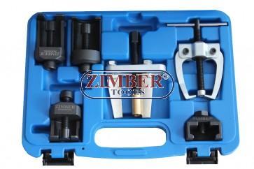 Универсален комплект за изваждане на чистачки 6бр.- ZR-36UWPS6 - ZIMBER-PROFESSIONAL