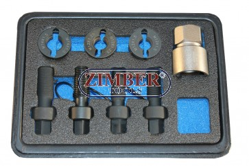 Комплект за възстановяване на резби за болтове на спирачни дискове и главини M12 x 1.25 , M12 x 1.5, M14 x 1.5- ZR-36WITK01 - ZIMBER PROFESSIONAL
