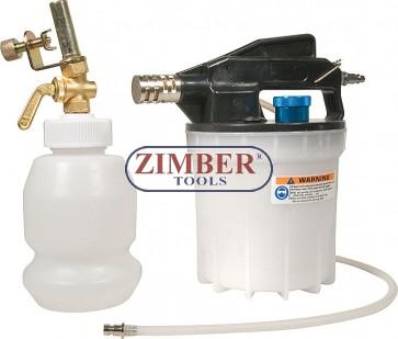 Въздушен вакуум за спирачна течност к-т, ZL-1025K - ZIMBER