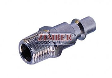 """Накрайник за въздух 3/8"""" стомана-ZIMBER"""