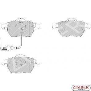 Накладки предни к-т - AUDI 100, A3, A4, A6, SEAT TOLEDO