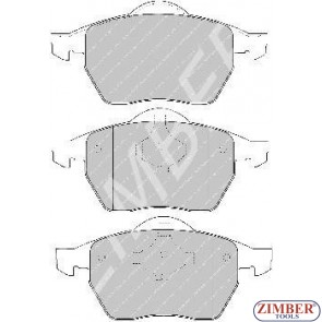 Накладки предни к-т - AUDI 100, A4, A6, VOLKSWAGEN PASSAT